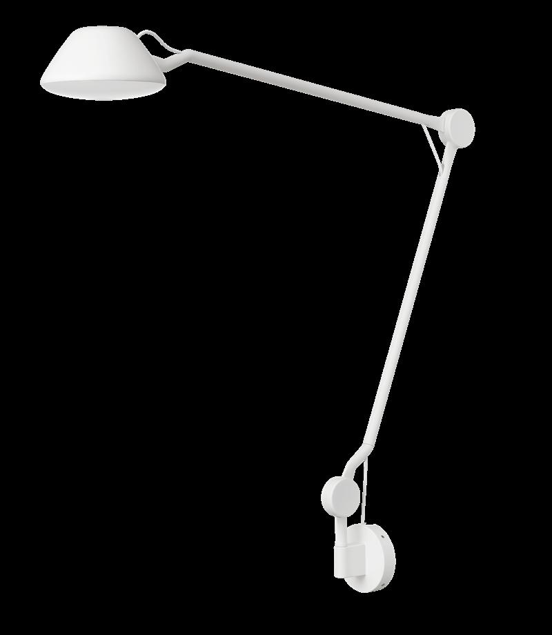AQ01 væglampe, hvid