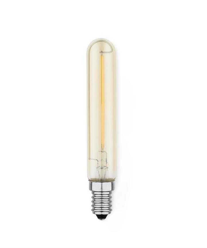 Amp Pære 2W LED - E14, Klar