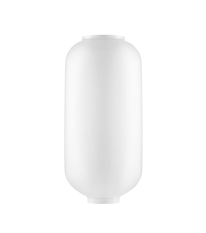 Erstatningsglas til Amp pendel - Stor, Hvid