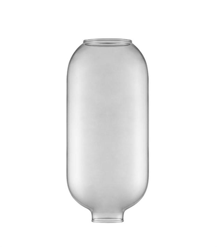 Erstatningsglas til Amp pendel - Stor, Smoke