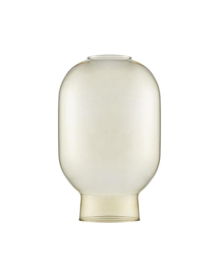 Erstatningsglas til Amp bordlampe, Guld