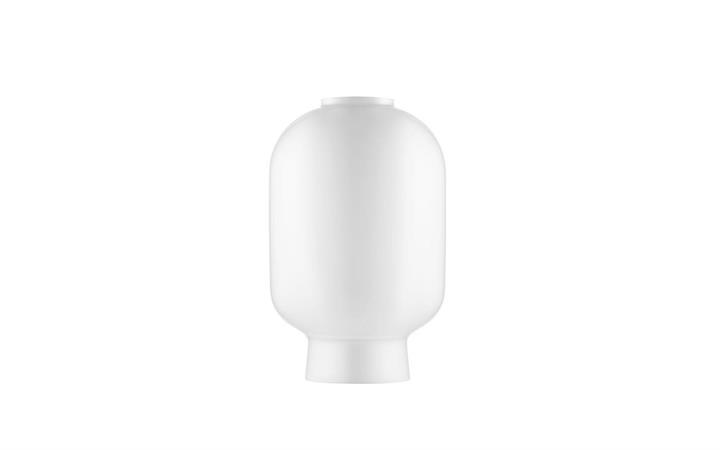 Erstatningsglas til Amp Lysekrone, Hvid