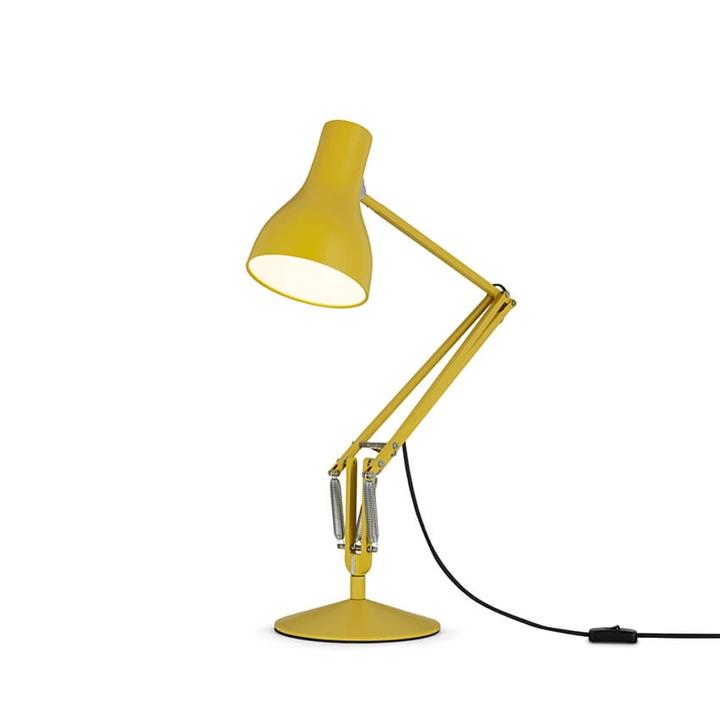 Type 75 bordlampe Margaret Howell, yellow ochre