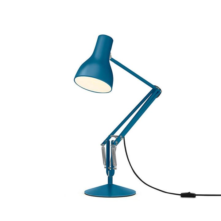 Type 75 bordlampe Margaret Howell, saxon blue
