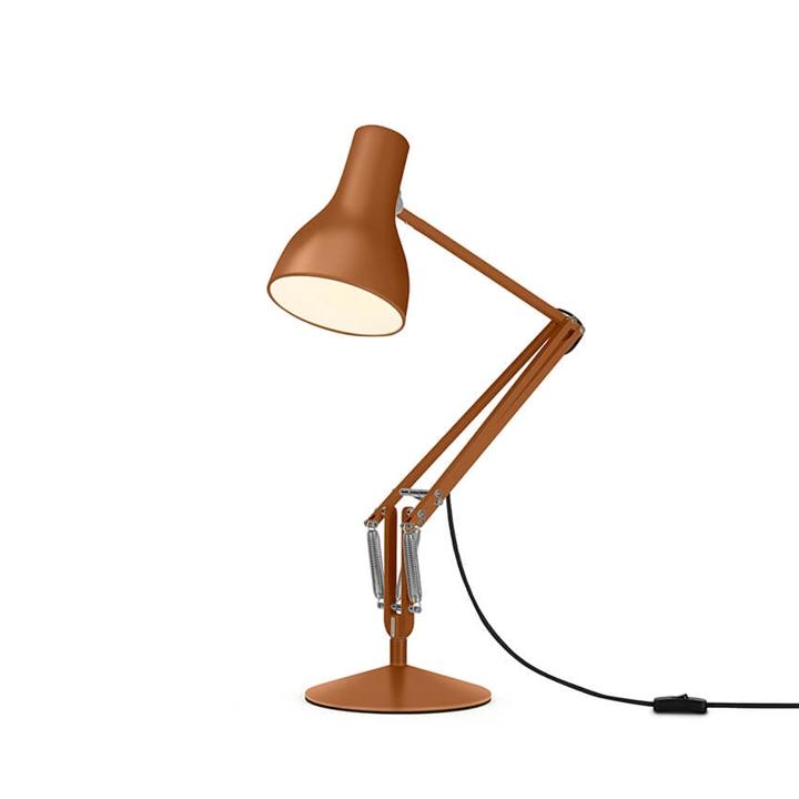 Type 75 bordlampe Margaret Howell, sienna