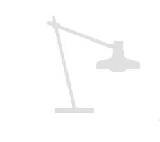 Arigato bordlampe special hvid