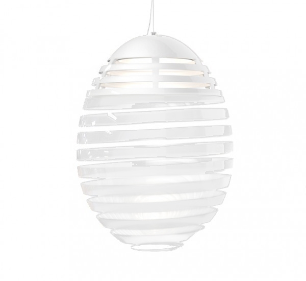 Incalmo suspensione led, hvid