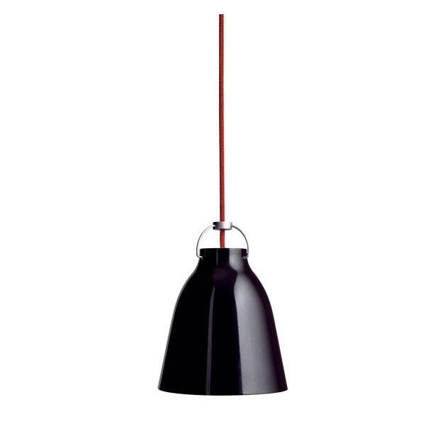 Caravaggio Pendel sort/rød P1