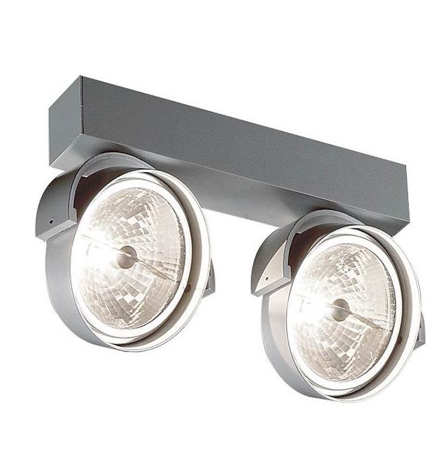 Rand 211 loft/væg, alu-grå