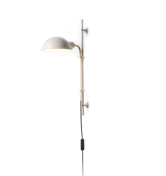 Funiculi væglampe, off-white
