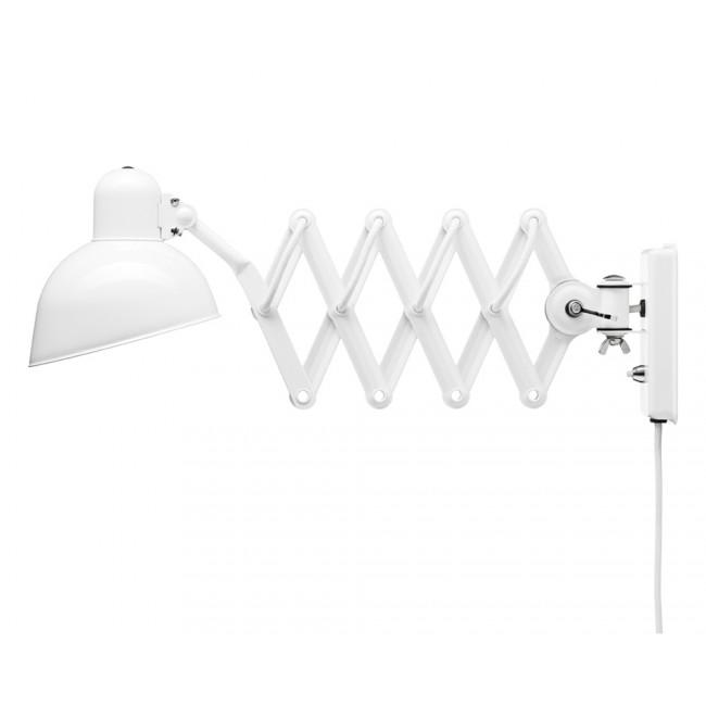 6718-w væglampe, hvid