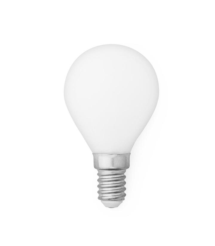LED Pære Standard 2W Ø45 Hvid - E14, Hvid
