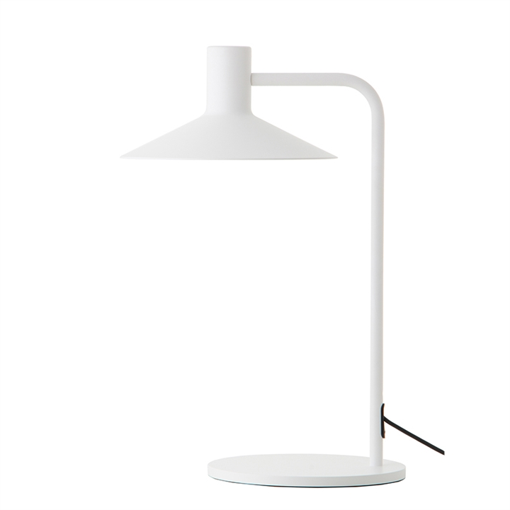 Minneapolis bordlampe, mat hvid