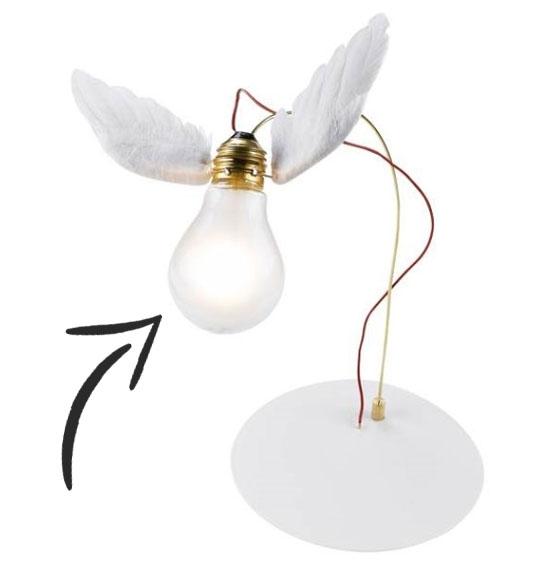 Pære til lucellino bordlampe