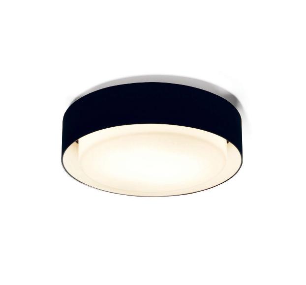 Plaff-on! væglampe, ø33 sort