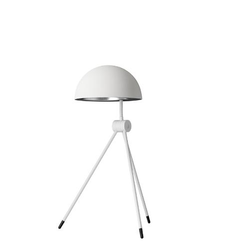 Radon bordlampe, hvid/alba