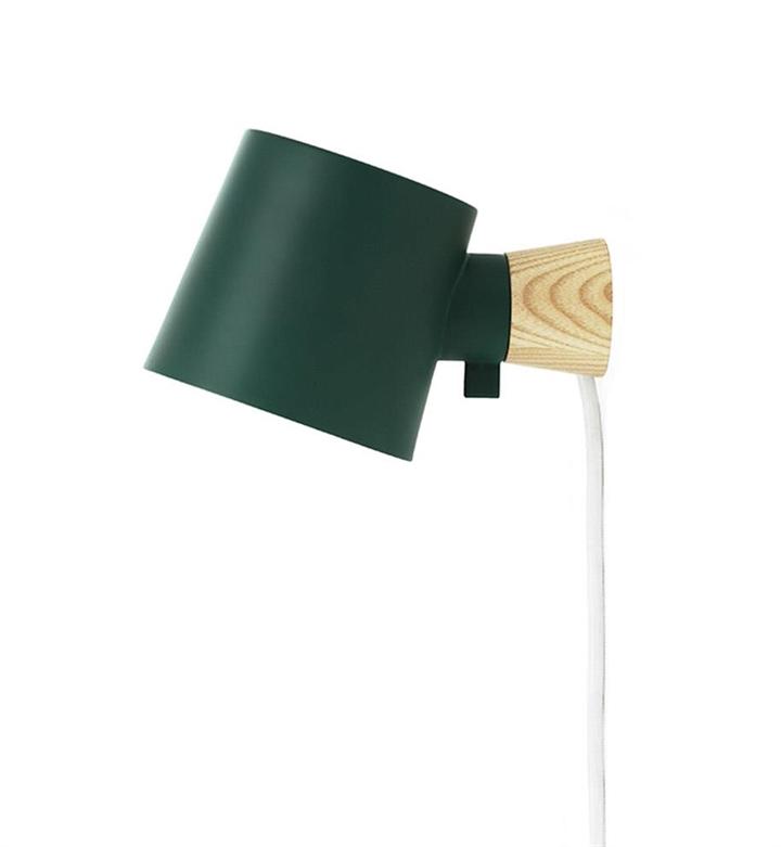 Rise væglampe, Petrol