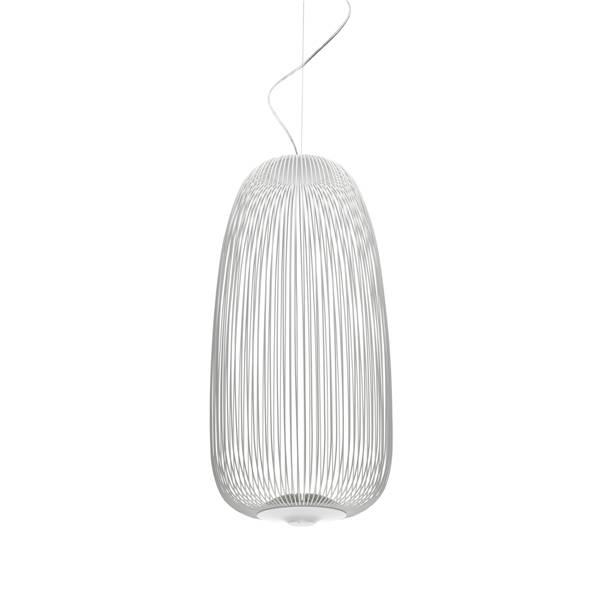 Spokes 1 LED MyLight pendel, Hvid