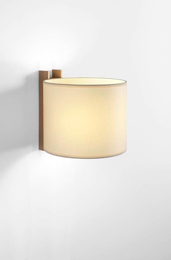 TMM Corto væglampe, bøg/beige