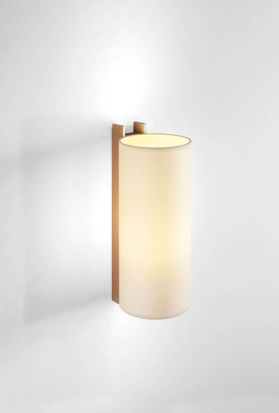 TMM Largo væglampe, bøg/beige