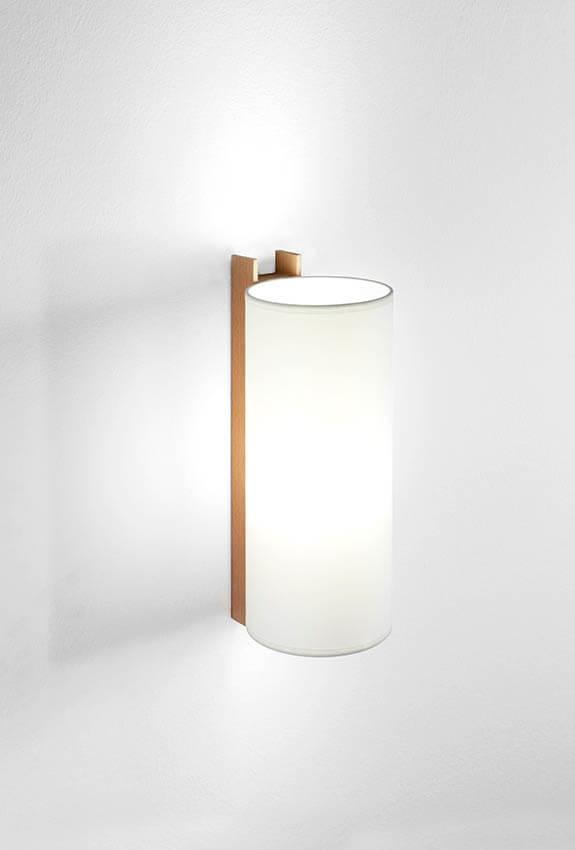 TMM Largo væglampe, bøg/hvid