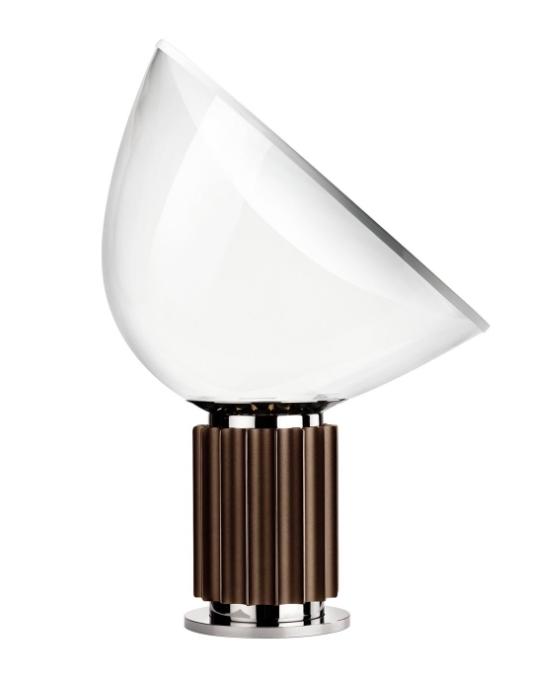 Taccia bordlampe, bronze