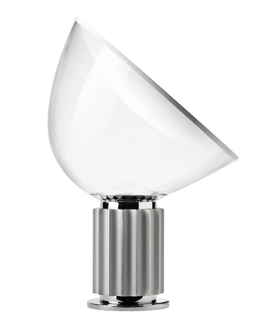 Taccia bordlampe, silver