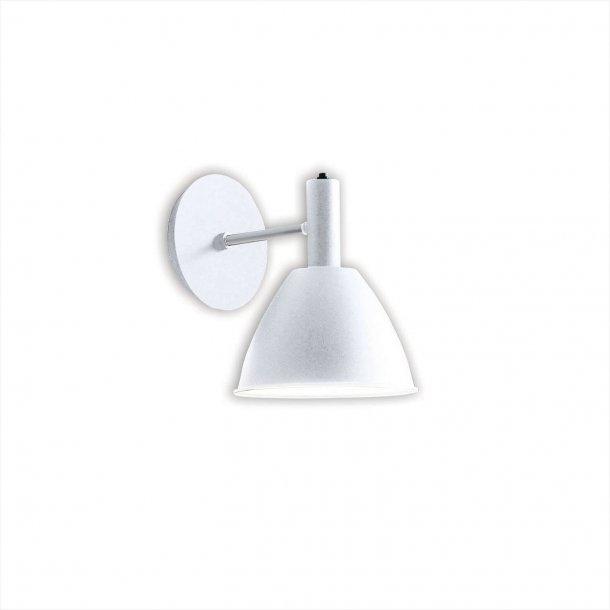 Bauhaus 90 w væglampe, hvid