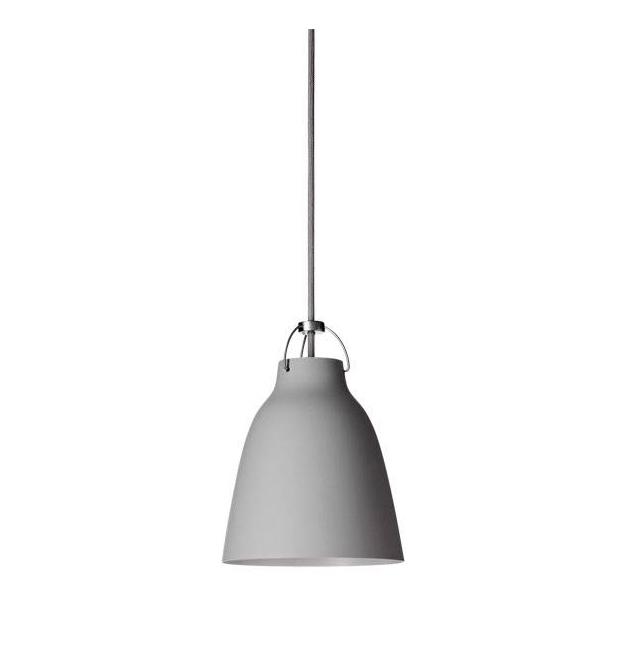 Caravaggio Pendel mat grå 25 P1