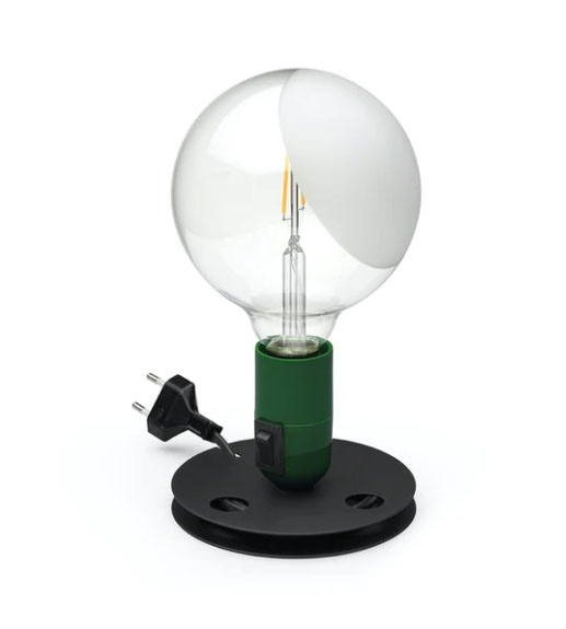 Lampadina Bordlampe, grøn