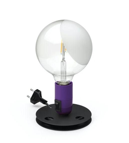 Lampadina Bordlampe, lilla