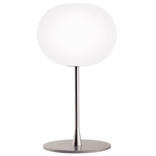 Glo-Ball T1 bordlampe, sølv