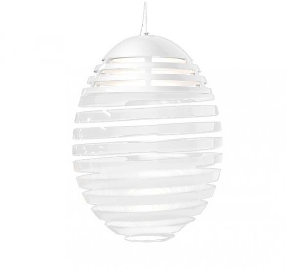 Incalmo 214 suspensione led, hvid