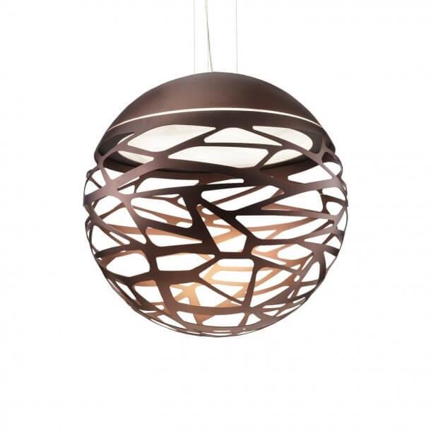 Kelly Large Sphere SO4 Pendel, Kobberfarvet bronze
