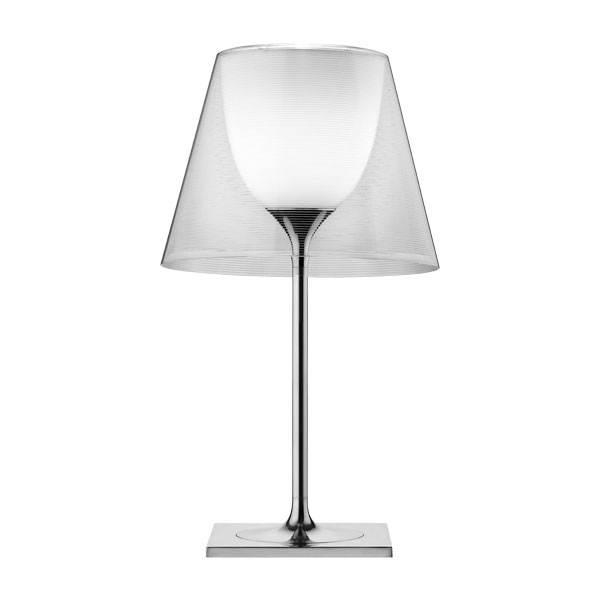 Ktribe T2 bordlampe, transparent