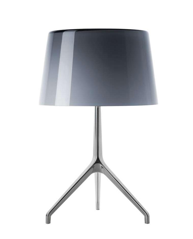 Lumiere XXS bordlampe, aluminium/grå