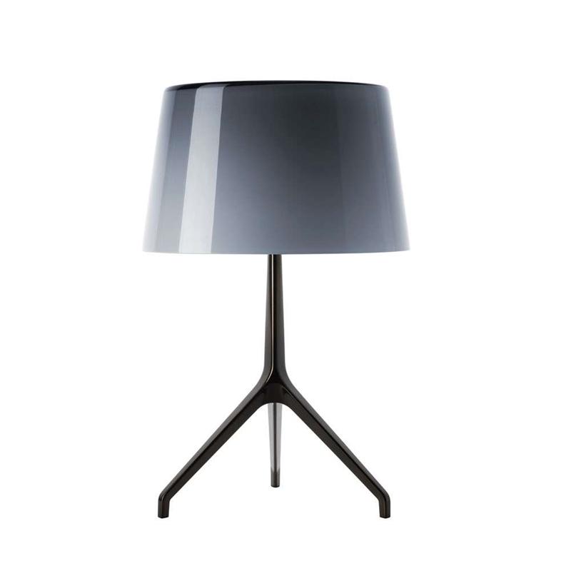 Lumiere XXS bordlampe, sort/grå