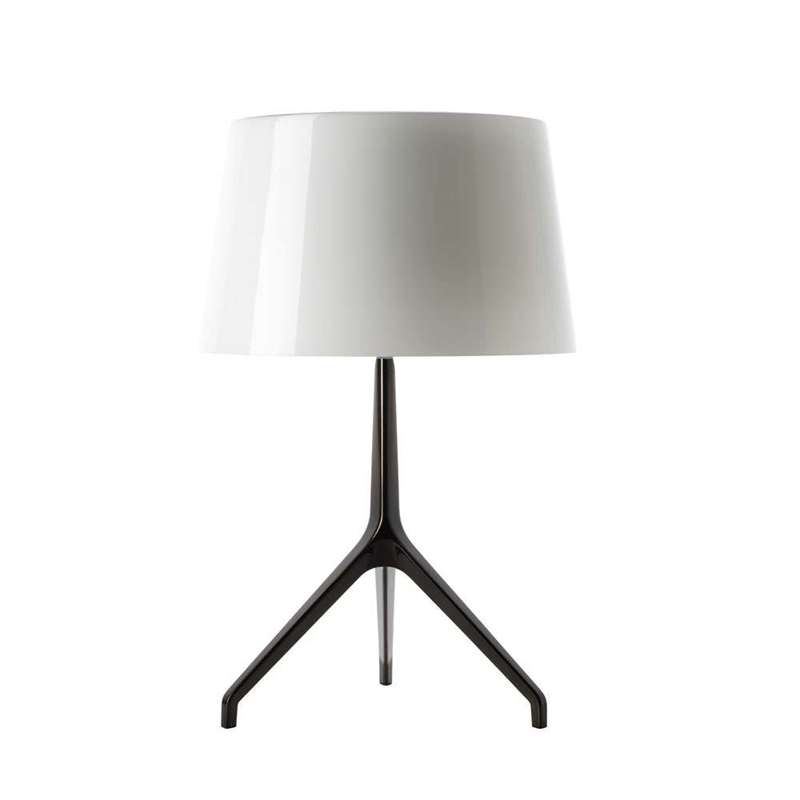 Lumiere XXS bordlampe, sort/hvid