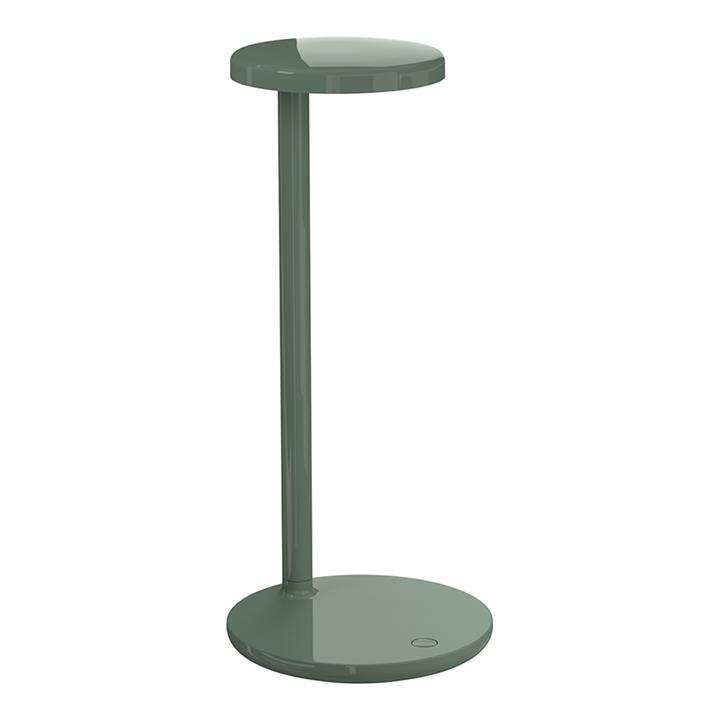 Oblique QI bordlampe, grøn