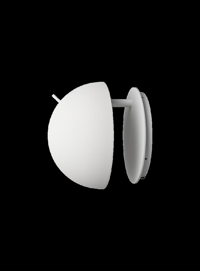 Radon væglampe, Hvid/Alba