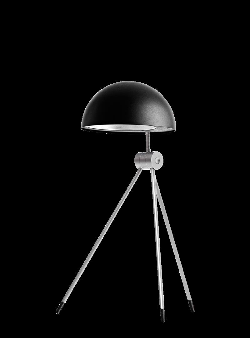 Radon bordlampe, Sort/Nigra