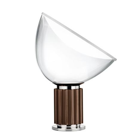 Taccia Small bordlampe, bronze