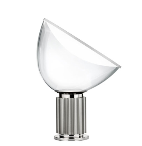Taccia Small bordlampe, sølv