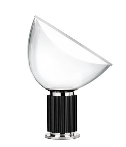 Taccia Small bordlampe, sort