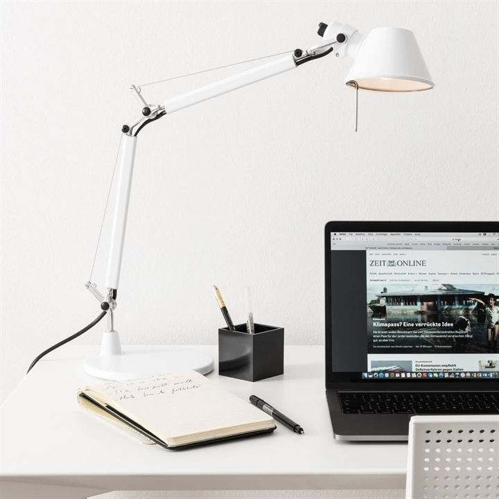 Tolomeo Micro bordlampe, hvid