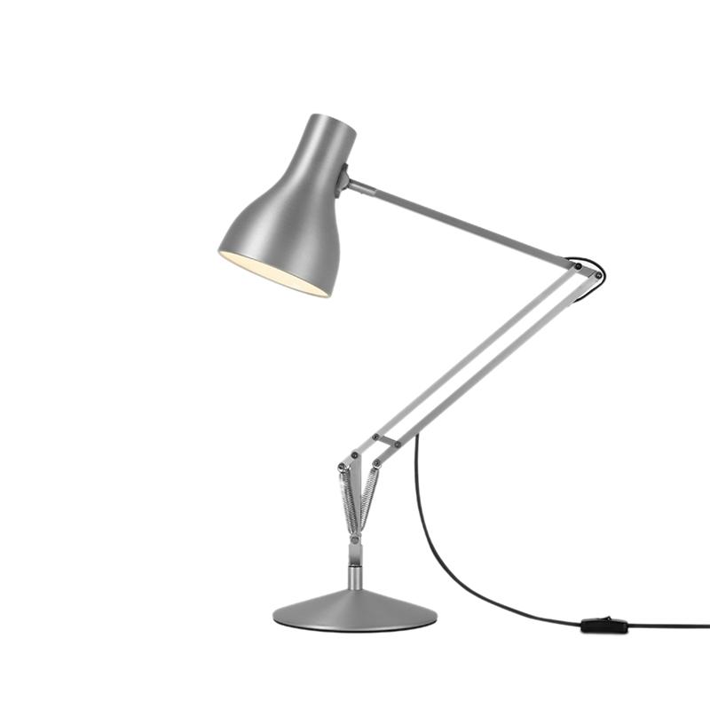 Type 75 bordlampe, aluminium