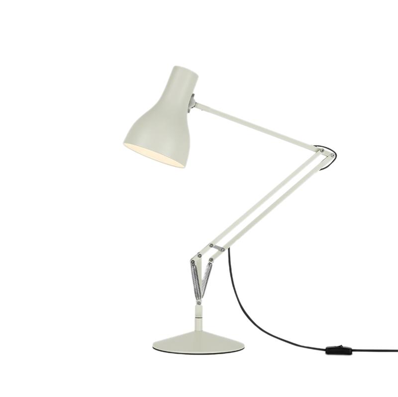 Type 75 bordlampe, hvid