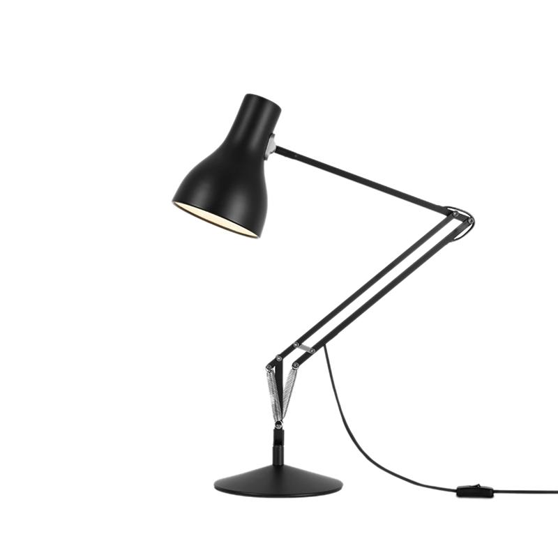 Type 75 bordlampe, sort